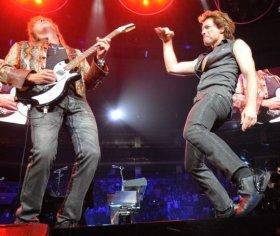 Richie Sambora iJon Bon Jovi w2008 roku