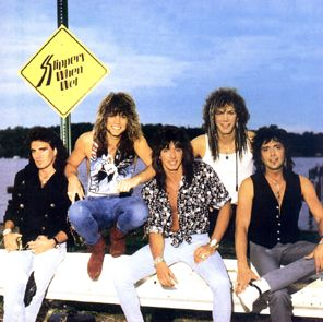 Bon Jovi ery Slippery When Wet