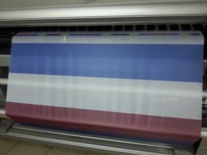 flaga druk