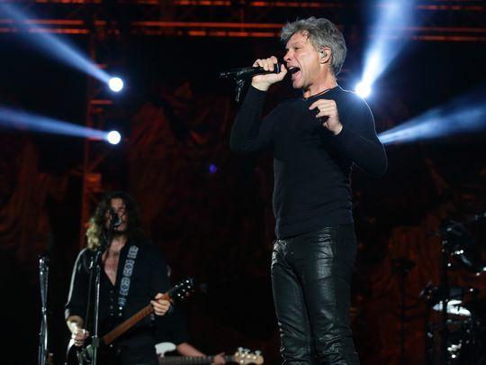 Bon Jovi na koncercie w Singapurze