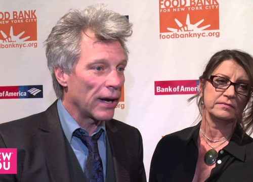 Jon i Dorothea Bon Jovi na gali Food Bank Can-Do Awards