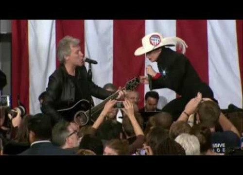 Lady Gaga i Jon Bon Jovi – Livin' On A Prayer