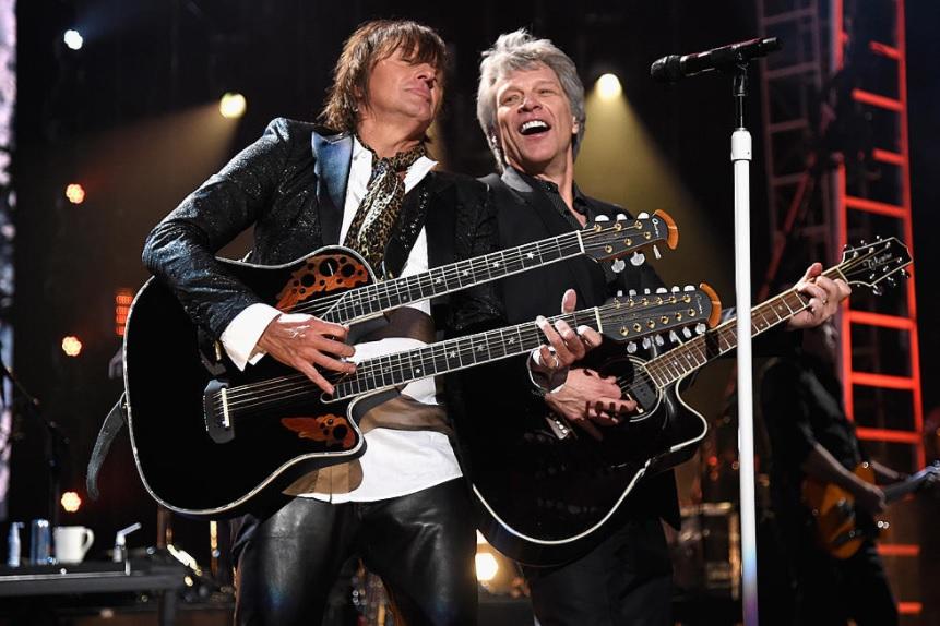 Richie Sambora i Jon Bon Jovi 2018