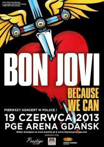 Bon Jovi w Gdańsku 2013